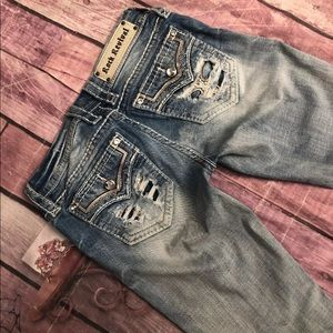 Rock Revival Fay Skinny Destroyed Jeans 👖